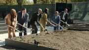 USA: The Obamas host groundbreaking ceremony for Presidential centre in Chicago