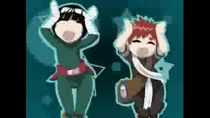 You cant dance Gaara & Lee (flash animation)