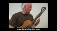 Ben Bolt - Bourree in Em for Lute Bach