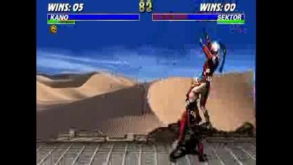 Mortal Kombat - Kano 48%