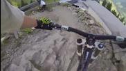 X-line Saalbach Non-stop-run by downhill-rangers_com