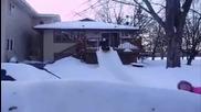 Невероятно зимно забавление