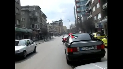 Протест срещу високите цени на горивата 27.03.2011 Велико Търново 2/2