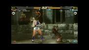 Tekken 6 - Asuka Kazama Vs. Hworang *HQ*