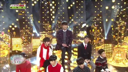131222 Vixx & Seo In Guk - Winter Propose @ Inkigayo Christmas Special
