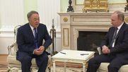 Russia: Putin and Nazarbayev talk V-Day 2016 and Vostochny Cosmodrome