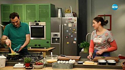 Фритата с тиквички, сирене и джоджен - Бон Апети (17.04.2018)