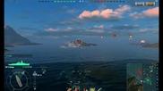 World Of Warships Battle My Gameplay Trailer