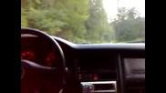 Audi 90 2.3 20v 174hp много луд звук