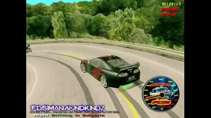 [dnz]crazzyto0..fds and [fds]man1ak Twin drifting