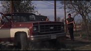 Стивън Сегал раздава як бой в филма Градска справедливост (2007)
