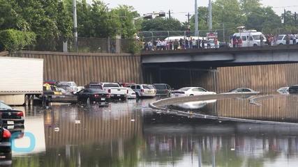 Aerial Footage of Swamped Houston