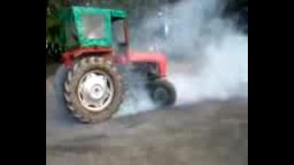 Tractor Burnout