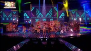 Страхотно! Rihanna - Whats My Name Live @ X - Factor Final