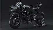 Нoвият шедьовър на Kawasaki, ще ви накара да се влюбите: Ninja H 2 R 1000