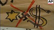 Комунисти и националисти в единен фронт срещу ционизма! Смело мы в бой пойдем!