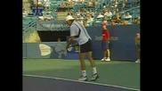 Феноменално Отиграване На Andy Roddick
