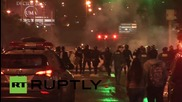 Peru: Pro-choice protesters clash with police in Lima *EXPLICIT*