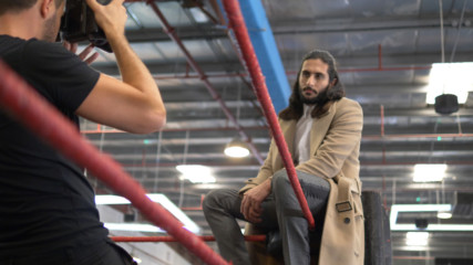 Behind The Scenes At WWE Superstar Mansoor's Vogue Arabia Photoshoot: WWE Al An