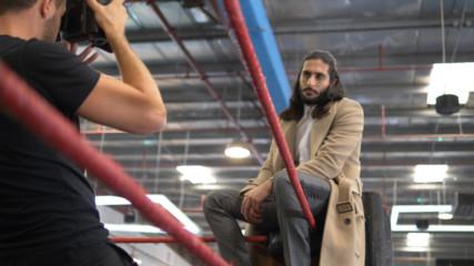 Behind The Scenes At WWE Superstar Mansoor's Vogue Arabia Photoshoot: WWE Al An