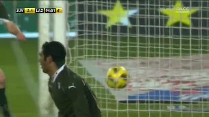 Прекрасен гол на Красич в 94 минута
