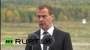 Russia: Medvedev talks the importance of arms market at RAE-2015