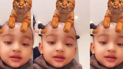 Чикаго Уест е най-сладкото дете на Ким Кардашиян!