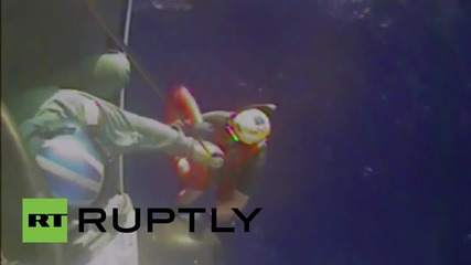 USA: Coast Guard finds debris from the missing El Faro cargo ship