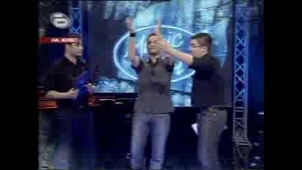 Виктор Vc. Лазер Елиминации Music Idol  12.03.08