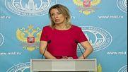 Russia: Zakharova slam's Kiev's 'aggressive' rhetoric following Savchenko swap