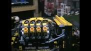 V8 лего Rc драгстер