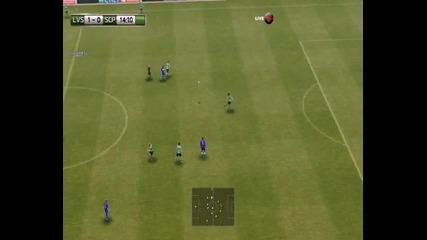 Pes 2013 Levski Manager mode ep.39 - Мач със Спортинг Лисабон