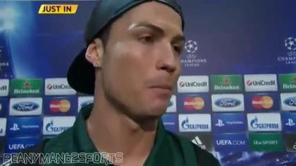 Роналдо дава мнението си за жените [смях]