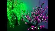 Декор Дървета със светодиодно осветление, Лед,светещи дървета ,лед Дърво