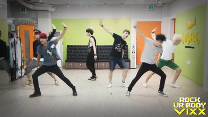 (vixx) - Rock Ur Body (vixx - Practice Rock Ur Body dancing Video)