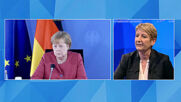 Merkel welcomes deal on new EU climate change law at EPP event