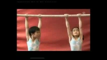 Ужасни кадри,как подготвят децата в Китай за олимпиадите??? :(