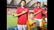 Господари на ефира - Кореиски футболист збърка футболът с казармата 2.07.2010г