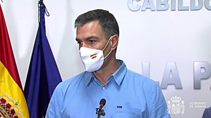 Spain: 'All the resources of the state are at your disposal' - Sanchez following La Palma eruption