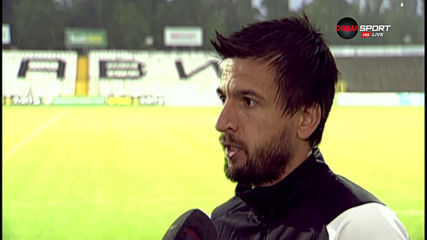 Дарко Тасевски: Загубата от Витоша миналия сезон ни повлия