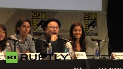 USA: Fear the Walking Dead cast & crew give sneak preview at Comic-Con 2015