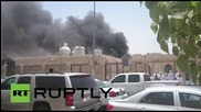 Saudi Arabia: Smoke billows from site of deadly mosque bombing