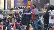 USA: Protesters flood Times Square to demand justice for George Floyd