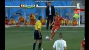 Белгия 2:1 Алжир (бг аудио) Мондиал 2014