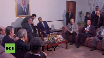 Russia: Archive footage shows Yevgeny Primakov in his best years
