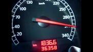 Lamborghini Gallardo Nera 0 - 340 Km/h Route Ouverte