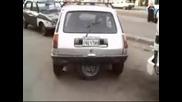 С 5 гуми се паркира много лесно