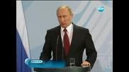 Русия и Германия са за политическо разрешаване на кризата в Сирия