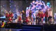 Зад кулисите преди коледния концерт на X Factor