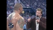 Y2J Highlight Reel With Batista